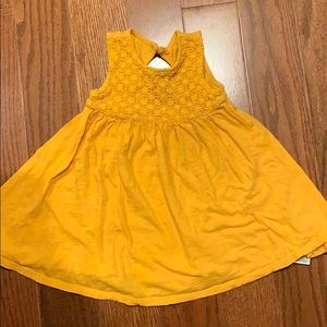 GUC Old Navy marigold sleeveless dress